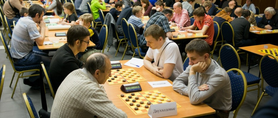 Двухходовые шашки на фестивале Ларикс